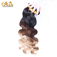 3Pcs/Lot 14-26inch Eurasian Virgin Hair Bundles Color 1B4/27 Body Wave Ombre  Virgin Hair Extensions
