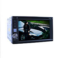 "6.2 ""2DIN lcd touchscreen in-dash auto dvd-speler met stereo radio, dvd, sd, usb"