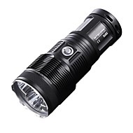 NITECORE TM15 2450 Lumens 3XCREE XM-L U2 LED High Power Tactical Flashlight Torch Light (4X18650/8XCR123, Black)