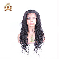 """10""""-26"""" Glueless Lace Front Wig Natural Wave Malaysian Virgin Hair Color Natural Black Baby Hair for Black Women"""