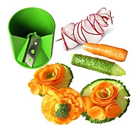 ZIQIAO Kitchen Stainless Steel Vegetable / Fruit Decorative Carving / Rolling Cutter