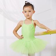 Ballet Trikoter Børne Ydeevne / Træning Spandex / Tyl 1 Stykke Ærmeløs Prinsesse Kjoler