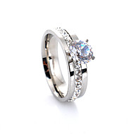 Ring Party / Daily / Casual Jewelry Crystal / Alloy Women Band Rings 1pc,7
