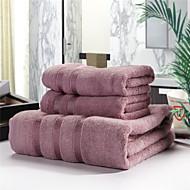 תוספות המיטה 70% 30% כותנה מגבת במבוק 3 חתיכות להגדיר
