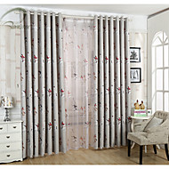 One Panel Red  Knight Printing Blackout Curtain