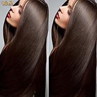 """8 """"-26"""" peruana recta peluca de cordón del color de la peluca del frente del cordón sin cola pelo virginal # 2 con el pelo del bebé para"""