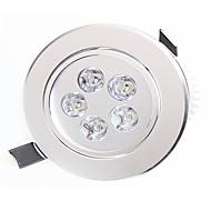 לד  Downlights 5 לד בכוח גבוה 450-550lm lm לבן חם / לבן טבעי דקורטיבי AC 85-265 V חלק 1