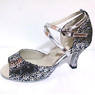 Customized Shoes Women's Dance Shoes Sparkling Glitter Latin Salsa Shoe