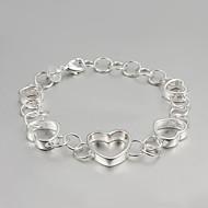 S925 Silber Armband Gliederarmband Herzentwurf Ankerarmband 2015 heiße verkaufenprodukte