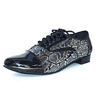 Customizable Latin Salsa Ballroom Dance Shoes for Men