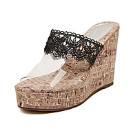 Women's Shoes Latex Wedge Heel Peep Toe Sandals Dresse More Colors available