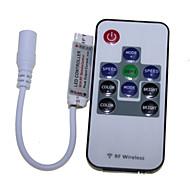 SENCART 2 M 120 5050 SMD RGB Ořezatelný/Dálkový ovladač/Stmívatelné/Připojitelný/Vhodné do aut/Samolepící 29 W Ohebné LED pásky DC12 V
