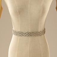 Handmade Beading Rhinestone Crystal Bridal Wedding Dress Gown Belt Sash Wedding Accessories Made By Hand