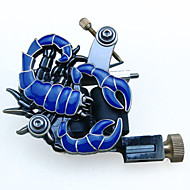 Scorpio Shape 8 Wrap Coil Dual-coiled Tattoo Machine Shader Liner Blue&Wwhite Color Available