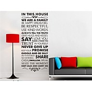 We Are Family Home Decoration Quote Wall Decal ZY8084 DIY Adesivo De Parede Removable Vinyl Wall Sticker