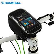 ROSWHEEL® Fahrradtasche 1.5LHandy-Tasche / Fahrradlenkertasche Multifunktions / Touchscreen Tasche für das Rad PVC FahrradtascheSamsung