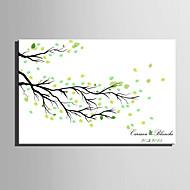 e-Home® personlig fingeraftryk maleri lærred udskriver - nedfaldne blade (omfatter 12 blækfarver)