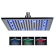 16 inch Stainless Steel Shower Head with Color Changing LED Light
