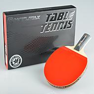 winmax® 1 Stück 4-Sterne-langen Griff Tischtennis mit einem Farb Stopfbuchse