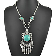 New Spring and Summer Fashion Heart Pendants  Long Statement Necklaces