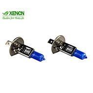 xencnのH1 12V 55ワット5300Kブルーダイヤモンド軽自動車のヘッドライトハロゲンスーパーホワイトのヘッドランプ