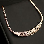 New Arrival Fashionla Hot Selling Rhinestone Twisted Necklace