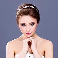 Women's / Flower Girl's Rhinestone / Alloy Headpiece-Wedding / Special Occasion / Casual Tiaras / Headbands 1 Piece
