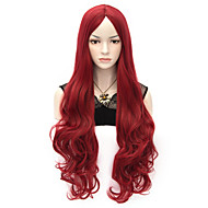 80 centimetri u ricci partito parrucca partito cosplay multi colori disponibili vino rosso