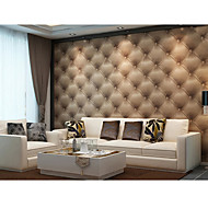 Contemporary 3D Wallpaper Art Deco 0.53m*10m Wall Covering PVC/Vinyl Wall Art
