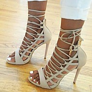 Women's Shoes Open Toe Gladiator Stiletto Heel Sandals Shoes