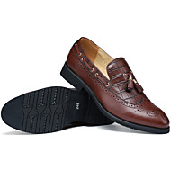 Men's Shoes Casual Leather Loafers Black/Brown/Burgundy
