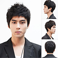 Non-Mainstream Men Wig Hair Wigs, Japan And South Korea Handsome Boy Shaggy Head Manufacturers Selling Wholesales