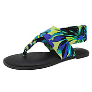 Women's Shoes Fabric Flat Heel Slingback/Flip Flops Sandals/Slippers Dress More Colors Available