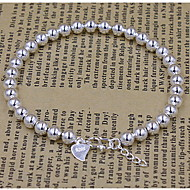 Unisex Silver Chain With Bracelet