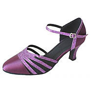 Customized Women's Closed Toe Ballroom Dance Shoes