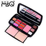 MSQ® 15 color eye shadow professional beauty makeup Travel Packs+CY015
