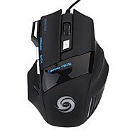 2015 Hot Salg Gaming Mus 5500 Dpi 7 Knapper Led Optiske Kabel Usb Gaming Mus Mus Til Pro Gamer