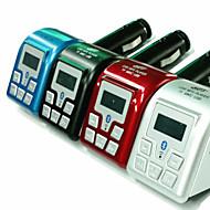 Bluetooth, MP3 player emițător FM cu ID-ul apelantului handsfree (culori asortate)