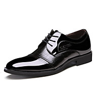 Men's Classic Office/Career PU/Faux Patent Leather Oxfords Shoes