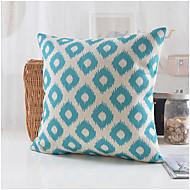 algodão geométrica estilo moderno / fronha decorativo linho