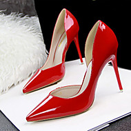 Women's Shoes Leatherette Stiletto Heel Heels Pointed Toe Pumps Heels Casual Multi-color