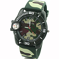 Men's Watch Quartz Sport Watch Compass Rubber Band Wrist watch Cool Watch Unique Watch