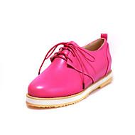 Scarpe Donna Finta pelle Basso Comoda/Modelli/Chiusa Sneakers alla moda Formale/Casual/Sportivo Nero/Blu/Rosa/Viola/Rosso/Bianco