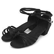 Sapatos de Dança ( Preto/Vermelho/Prateado/Dourado/Multi-Cor ) - Crianças - Não Personalizável - Latim/Salsa/Flamenco/Samba