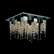 Chandeliers/Track Lights Crystal Modern/Contemporary Living Room/Bedroom/Dining Room/Bathroom/Kids Room Metal