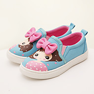 Girls' Shoes Outdoor Comfort/Closed Toe Canvas Loafers Blue/Pink/Navy