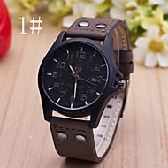 Men's  Watch New Casual Leather Calendar Belt Watch Wrist Watch Cool Watch Unique Watch Fashion Watch