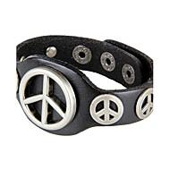 Unisex Chain Fashion Hip-Hop Bracelet Faux Leather
