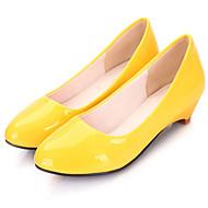 Women's Shoes  Flat Heel Heels/Basic Pump Pumps/Heels Office & Career/Dress/Casual Yellow/White/Orange