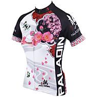 PALADIN® Fahrradtrikot Damen Kurze ÄrmelAtmungsaktiv / Rasche Trocknung / UV-resistant / Videokompression / Leichtes Material / Tasche